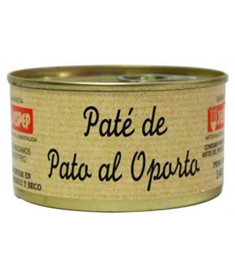 PATÉ DE PATO AL OPORTO JESPEP 140 GR
