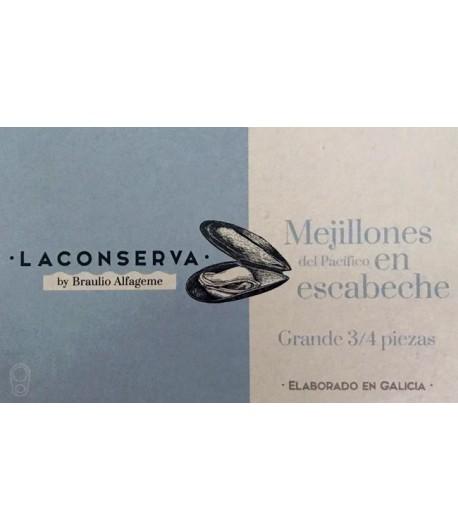 MEJILLON LA CONSERVA 3/4 120GR