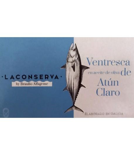 VENTRESCA ATÚN LA CONSERVA 120 GR