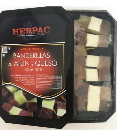BANDERILLAS ATÚN/QUESO 12 PZS